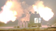 陸軍某合成旅:實彈射擊演練 破解部隊夜戰難題