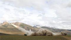 【记者在战位】海拔4600米 多炮种跨昼夜实弹射击演练