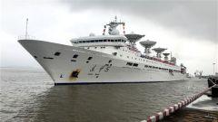 59天安全航行1.4万余海里——《我和我的祖国》在远望5号船上唱响