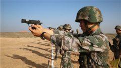 陆军第77集团军某防空旅开展轻武器实弹射击考核