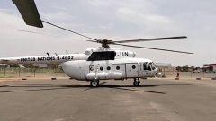 中国第三批赴苏丹达尔富尔维和直升机分队圆满完成首次飞行任务