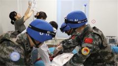 中国维和医疗队紧急救治转运俄罗斯维和人员