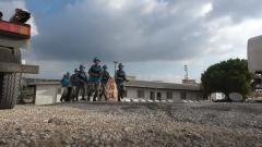 """中国维和工兵分队参加联黎部队""""猛虎""""演习"""