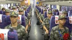 广西南宁举行2019年入伍新兵欢送仪式