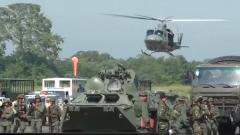 委内瑞拉举行大规模军演