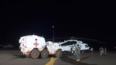 中国赴马里维和医疗队紧急救助外军维和人员