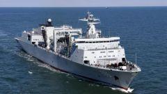 呼伦湖舰进行海上多课目连续训练