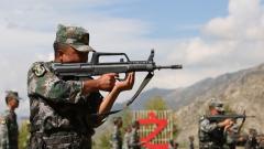 """西藏军区组织全区基干民兵开展""""创破纪录""""比武竞赛"""