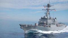 美军舰擅闯我西沙群岛领海 南部战区海空兵力予以警告驱离