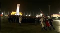 国庆70周年庆祝活动第二次联合演练