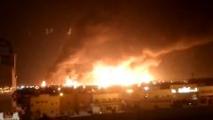 沙特石油设施遭袭致减产一半 胡塞武装称有能力打击更多设施