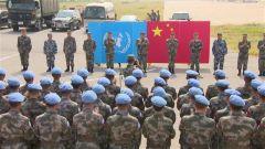 中国第10批赴南苏丹瓦乌维和部队出征
