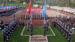 中国赴刚果(金)维和部队进行第22次轮换
