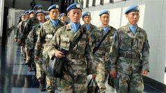 中国第十批赴南苏丹(瓦乌)维和部队出征