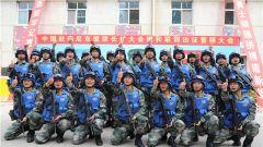 陆军第80集团军某合成旅维和步兵排完成赴印尼东盟防长扩大会维和联训的出征准备