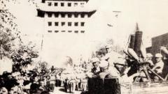 老兵回忆解放军入城仪式:老百姓欢呼雀跃 高呼兰州解放了