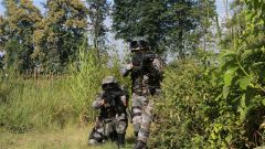滇西高原:全要素实兵拉练  锻炼官兵野外作战能力