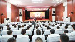 陆军某集团军医院举行文职人员入职宣誓仪式