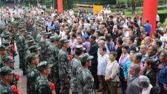 全城送兵 拥军优属 重庆市涪陵区举行新兵欢送大会