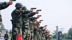 练兵先练官 武警桂林支队开展首长机关集中训练