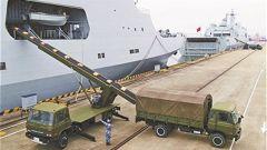 南部战区海军某保障基地搭建信息化采购平台:网上下单,补给快速送到码头