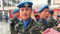 """申亮亮被授予""""人民英雄""""国家荣誉称号在我赴马里维和部队引起强烈反响"""
