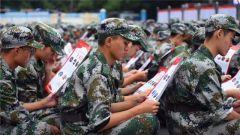 湖南吉首:国防教育日期间万名学生学习英模事迹