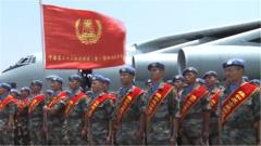 中国第22批赴刚果(金)维和部队凯旋