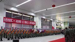 中国第22批赴刚果(金)维和部队乘坐军机凯旋