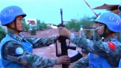 中国赴南苏丹(瓦乌)维和部队完成第九次轮换交接