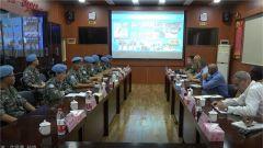 黎巴嫩:联合国审查组到访中国维和多功能工兵分队