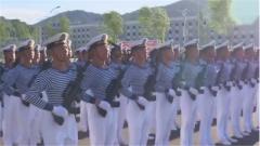 【直击2019阅兵训练场】 海军方队:见证成长 梦想起航