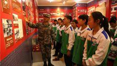 """陆军某旅:军地联手举办""""我与祖国共奋进""""国防教育活动"""