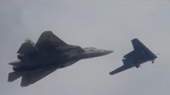 俄重型攻击无人机首次与苏-57战机协同飞行测试