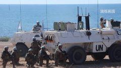 """黎巴嫩 :中国维和部队参加""""钢铁风暴-2019""""多国联合实兵实弹演习"""