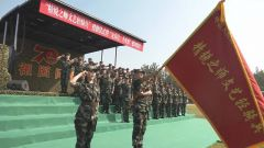 北京总队:文艺轻骑兵唱响战地之歌