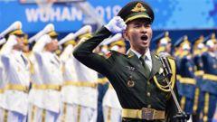 軍運會升旗手宣誓動員大會舉行
