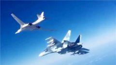 俄两架轰炸机PK欧洲五国战机 实弹对峙7小时