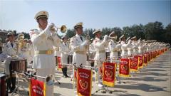 【大成小秀】揭秘国庆阅兵军乐团 你听到的都是他们演奏的