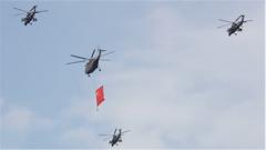 探秘國慶70周年閱兵空中護旗梯隊:護旗任務無上光榮 風險挑戰卻也時刻相伴