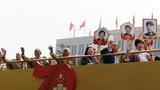 2019年10月1日上午,慶祝中華人民共和國成立70周年大會在北京天安門廣場隆重舉行,現場氣氛熱烈。徐曉羽攝