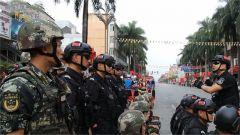 军地联合执勤确保第19届中缅胞波狂欢节顺利进行