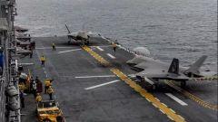 新里程碑 美两栖攻击舰载F-35B变轻型航母