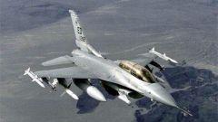 美军F-16战机在德国西南部坠毁
