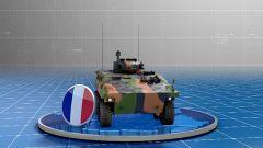 """法国VBCI装甲车真的""""钛""""轻了"""