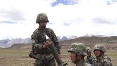 青藏高原:海拔4300米 锤炼部队实弹火力打击能力