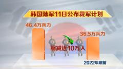 人口滑坡 韩国陆军将裁军10万