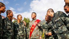 武警某部機動第八支隊:用閱兵精神照亮新兵從軍路