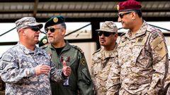 特朗普说沙特会为美国增兵埋单