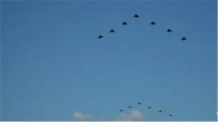 探秘閱兵訓練場:神秘的殲擊機梯隊由哪些機型組成?